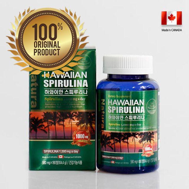 스피루리나 3개월분 하와이산 캐나다생산 180정