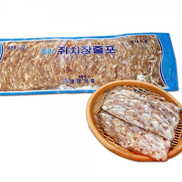 삼천포 쥐치장줄포 마른안주 명절업소튀김 쥐포(250g)