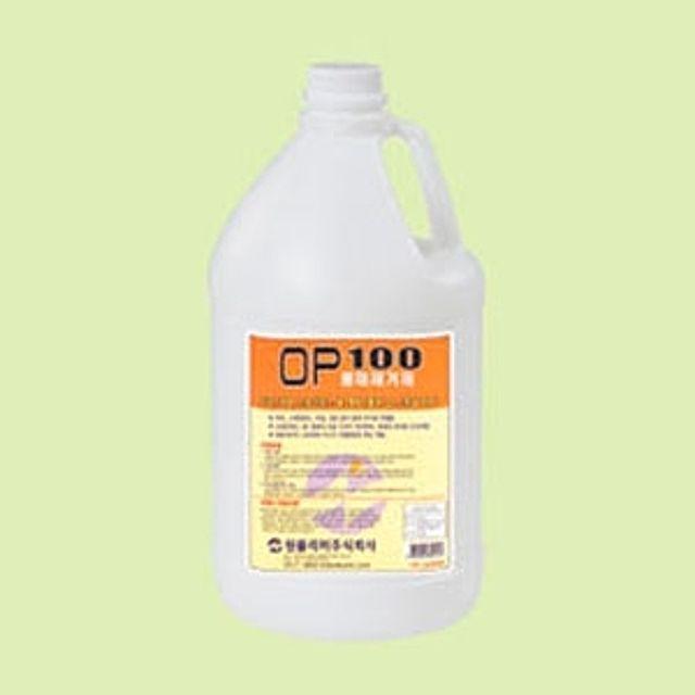 희석 사용 물때제거제 OP100 3.75L