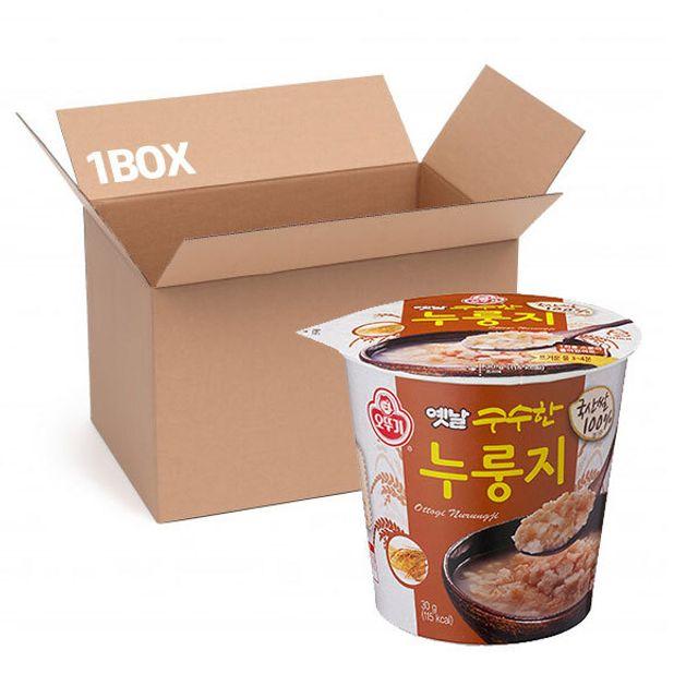 오뚜기 옛날 구수한누룽지 (용기) 30g (1box 18입)