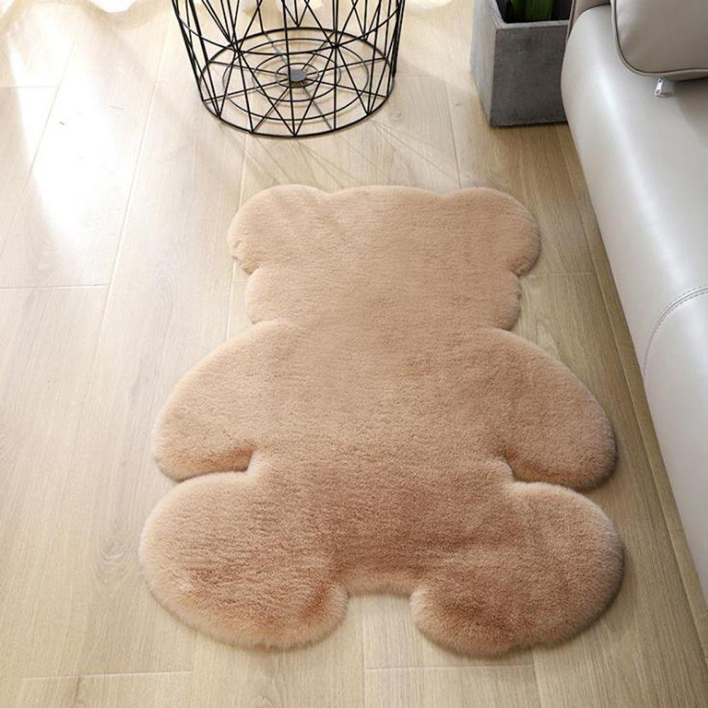 키밍 보송보송한 곰돌이 카펫 발매트 거실 침실