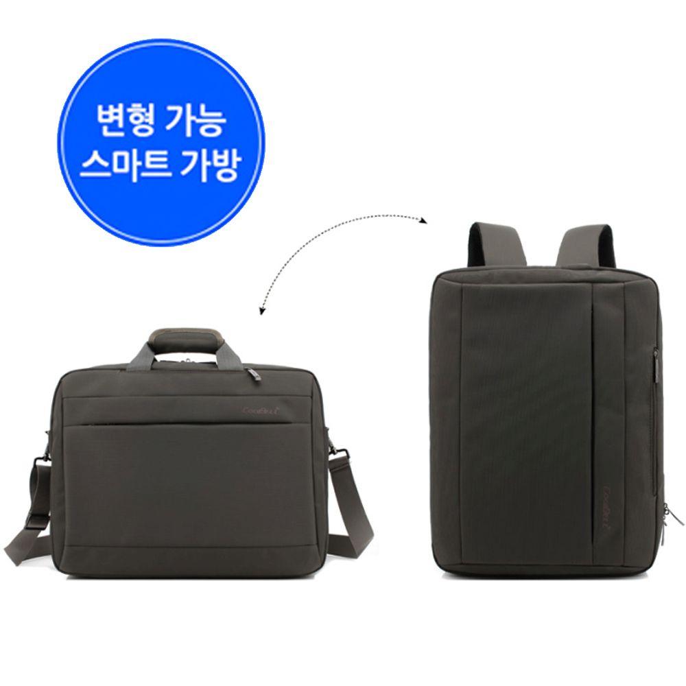 토드 숄더 크로스 백팩 수납 노트북가방 캐리어가방