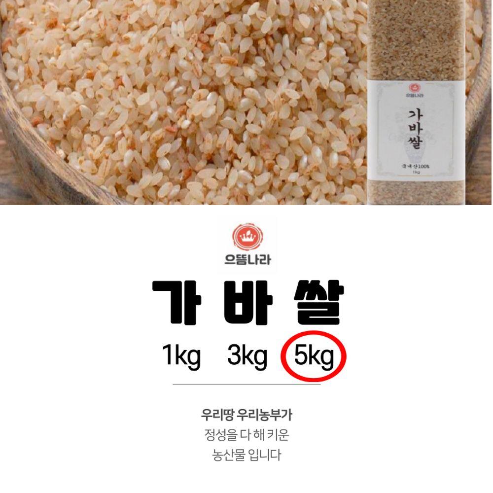 으뜸나라 웰빙 가바쌀 5kg