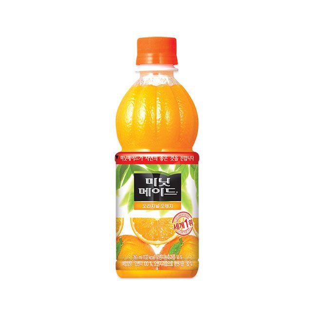 미닛메이드 오렌지 350ml 24PET 저칼로리 웰빙 과일