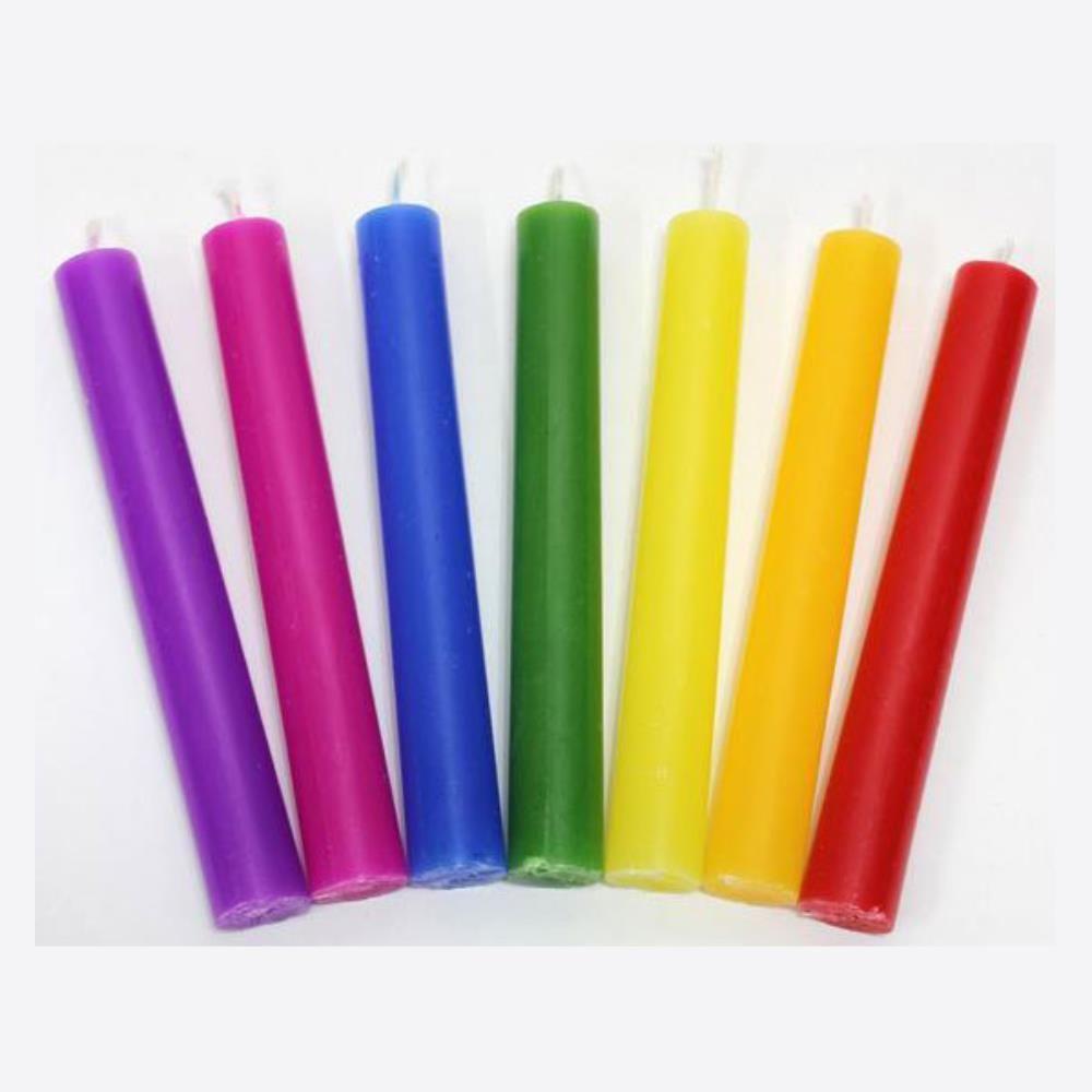 인테리어소품 7가지 색초 촛불 칼라양초 냄새제거 장식 인테리어 1D4C47B8