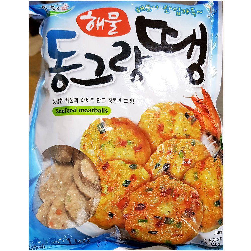 업소용 식당 식자재 씨밀레 해물동그랑땡 1KgX10
