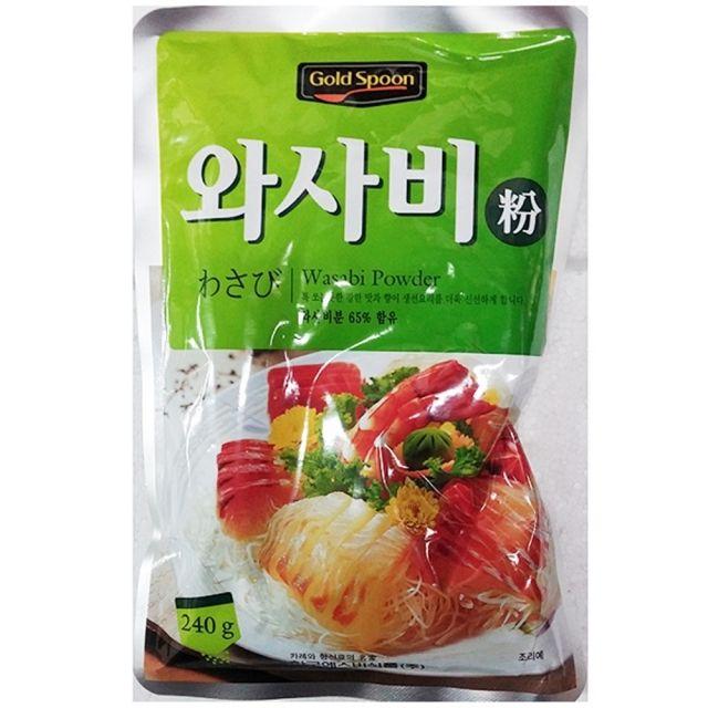 한국에스비 업소용 식자재 와사비 고추냉이 240g 1EA