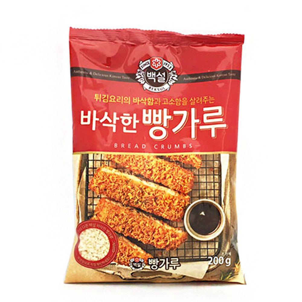 튀김요리 돈까스 핫도그 바삭 고소한 빵가루 200L