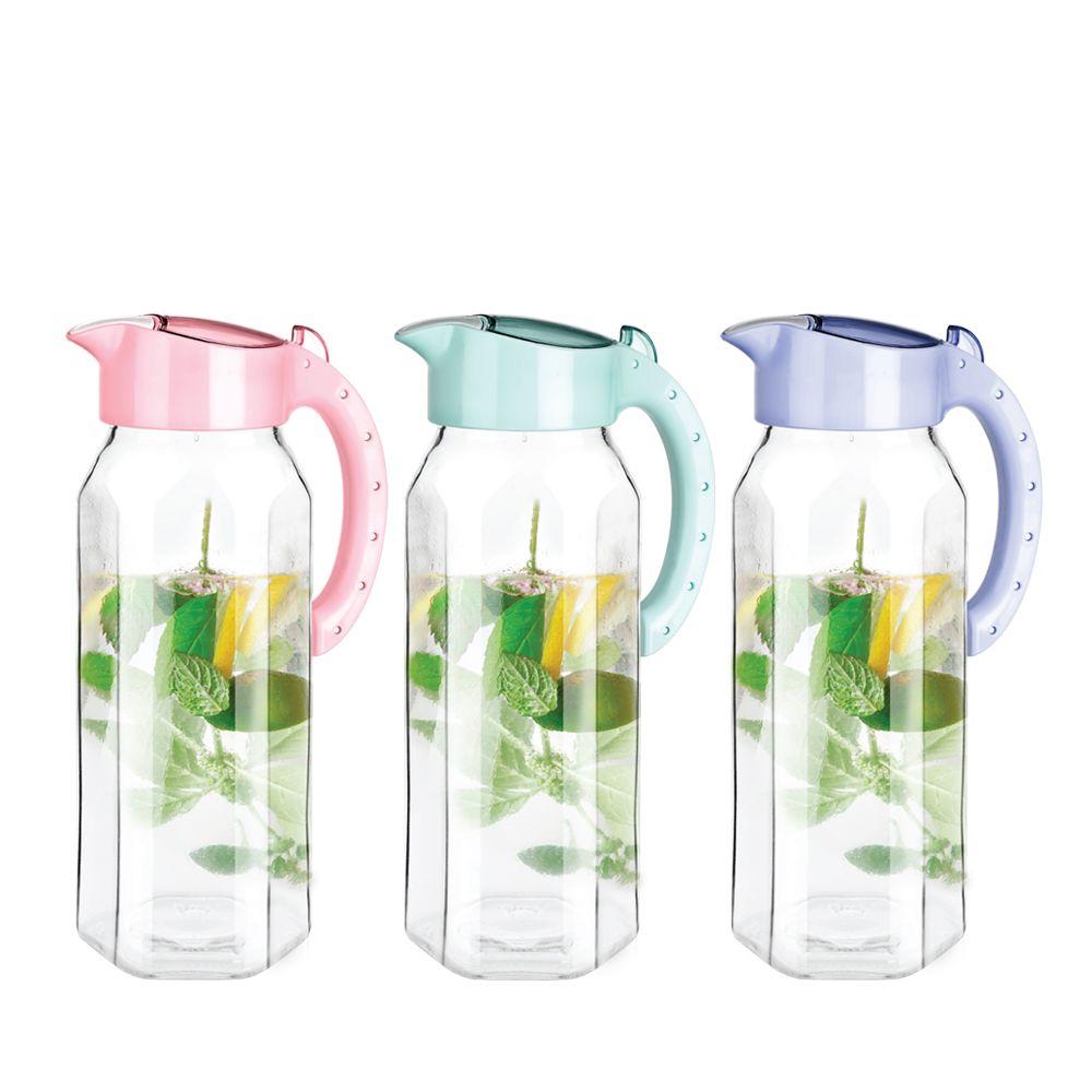 냉장고 유리물병 손잡이 스텐물병 물통 업소용 유리병