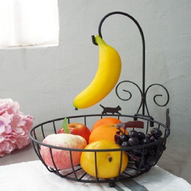 바나나걸이 과일 바스켓 바구니 주방 철바구니