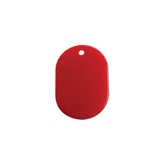 다용도 번호표 빨강 열쇠 고리 양면 키홀더 숫자 알림