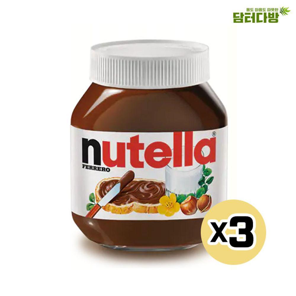 악마의 잼 초코맛 누텔라 370g X3