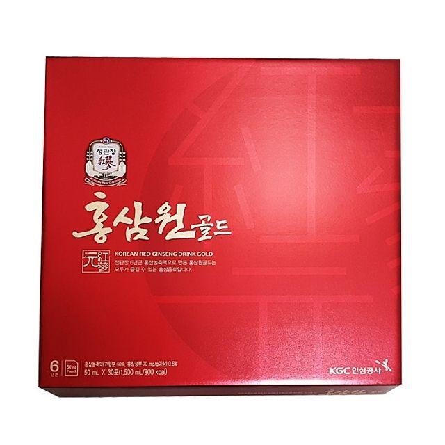 정관장 홍삼원 골드 50ml 30포 건강음료 홍삼음료 부모님선물 명절선물