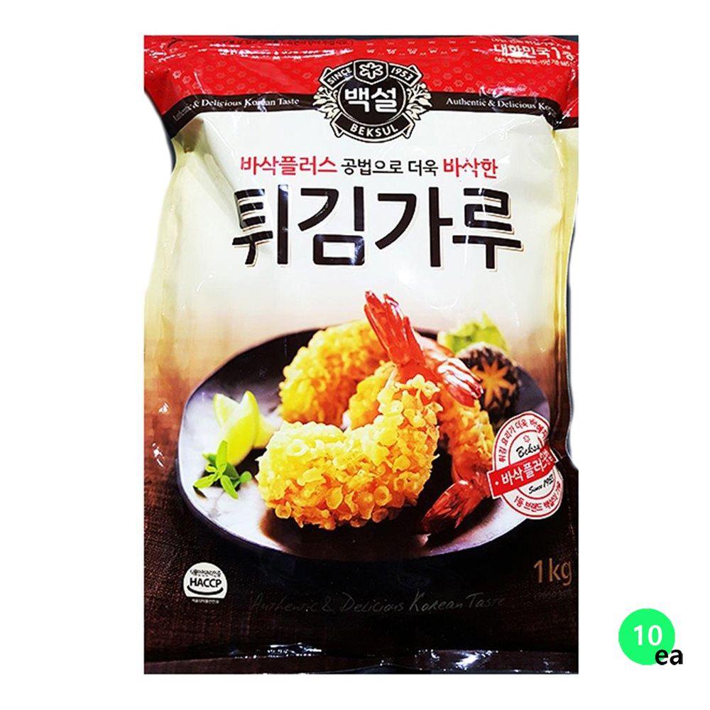 백설 튀김가루 1KX10
