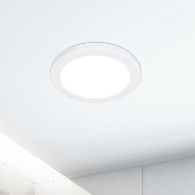 LED 무타공 슬림엣지직부 (원형 150파이) 12W