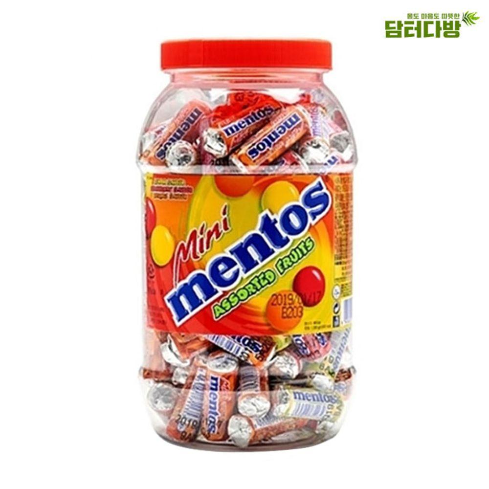 미니멘토스 푸르티 100개입 - 3가지의 맛