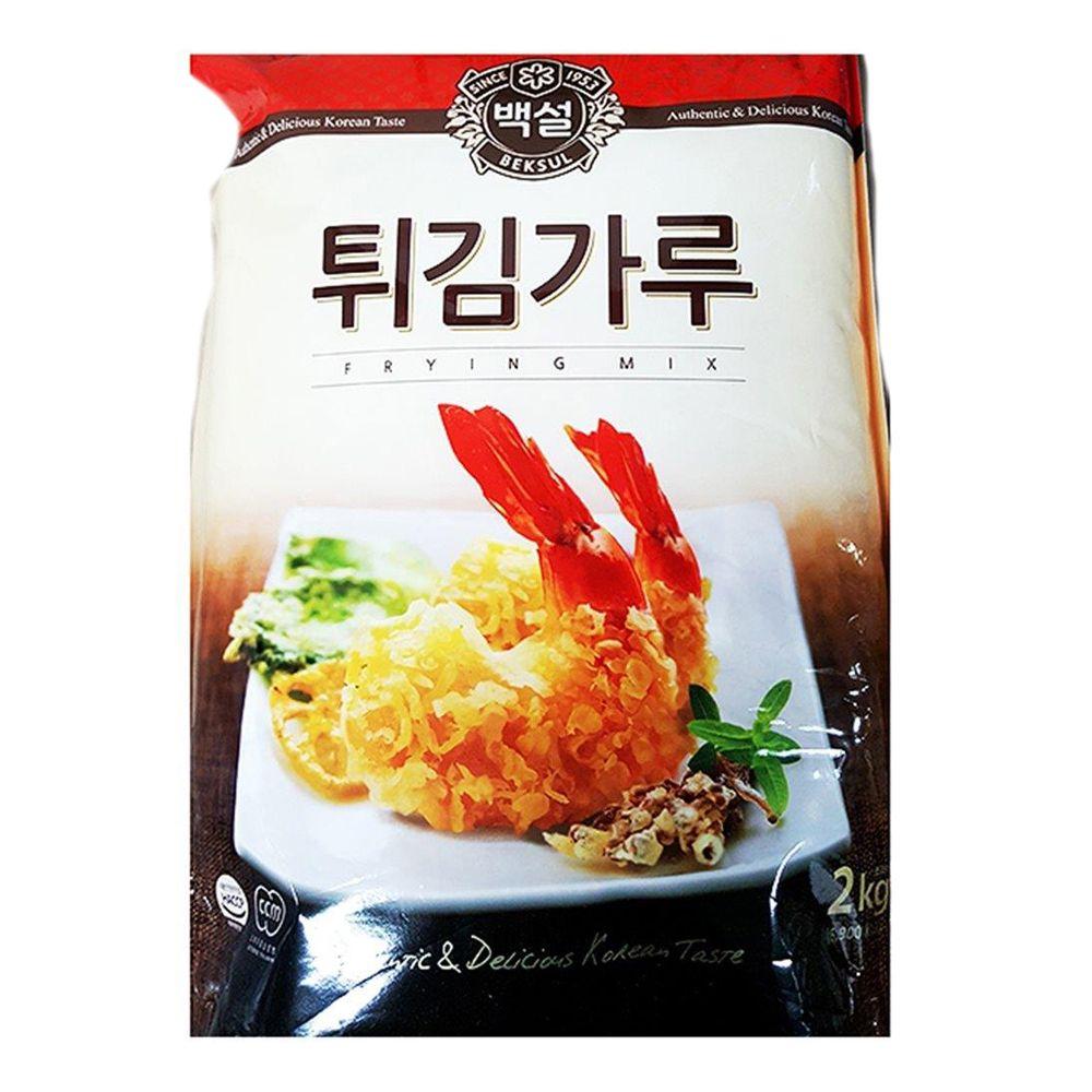 백설 튀김가루 업소용 2K
