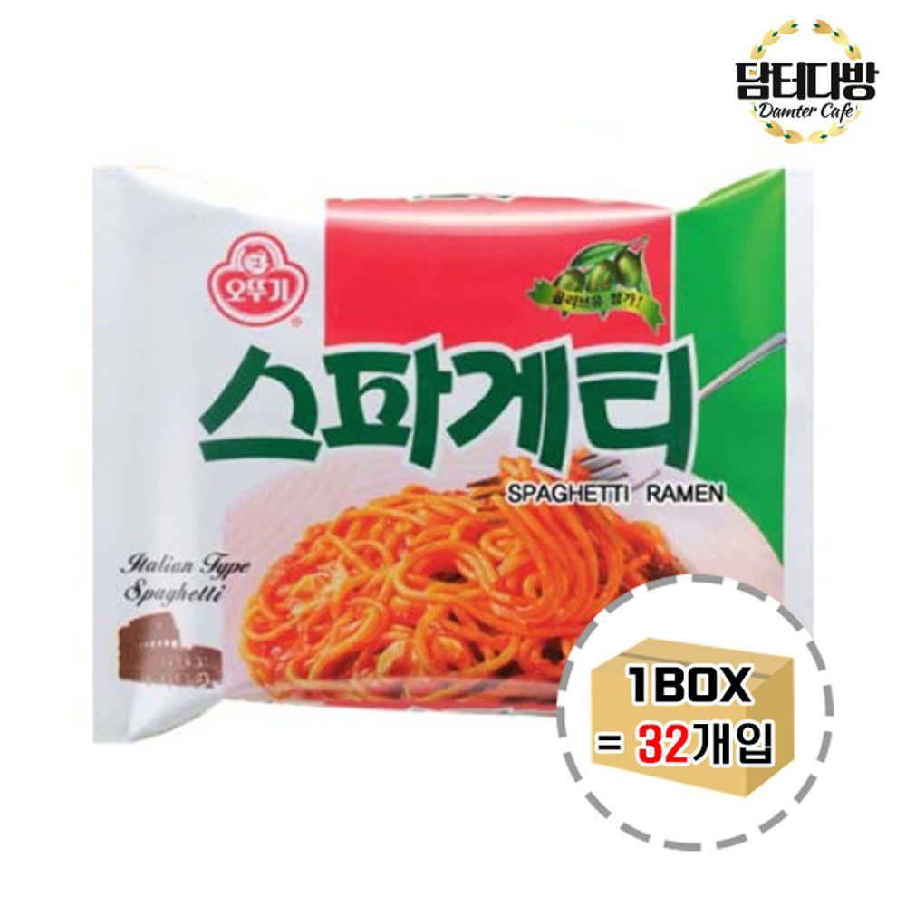 오뚜기 스파게티라면 1BOX (32봉)