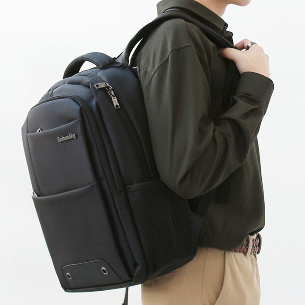 포켓수납 노트북 회사원 학생 백팩 여행가방 생활방수