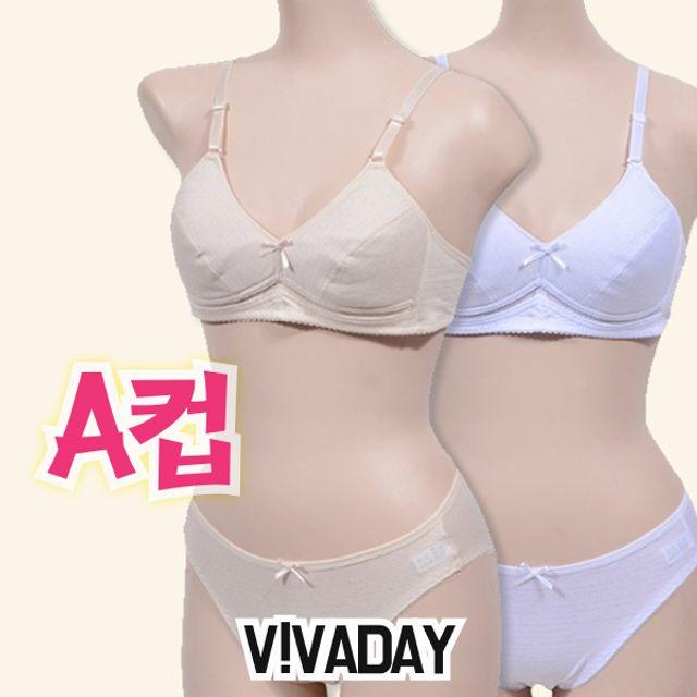 아이속옷 VIVADAY-CN01 노와이어주니어A컵 주니어브라 아동속옷 주니어속옷