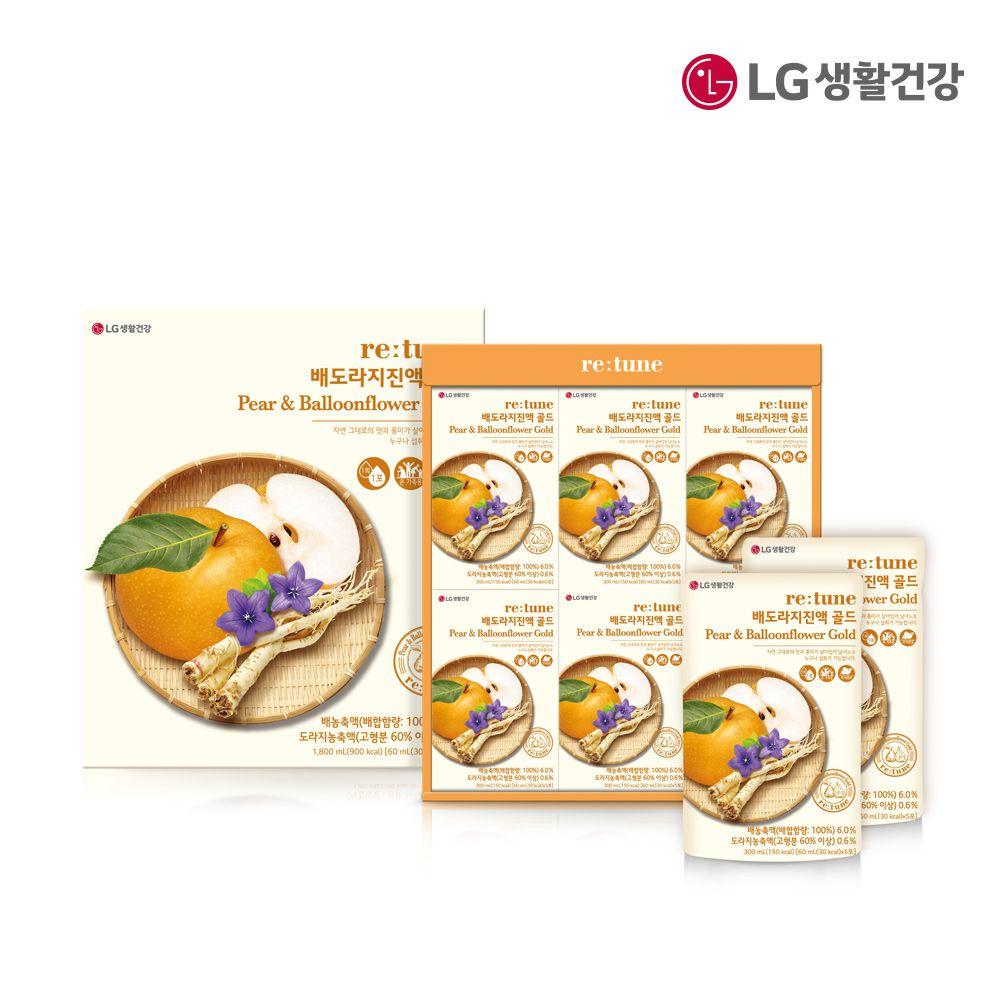 리튠 배도라지진액 골드 60mlx30포 선물세트