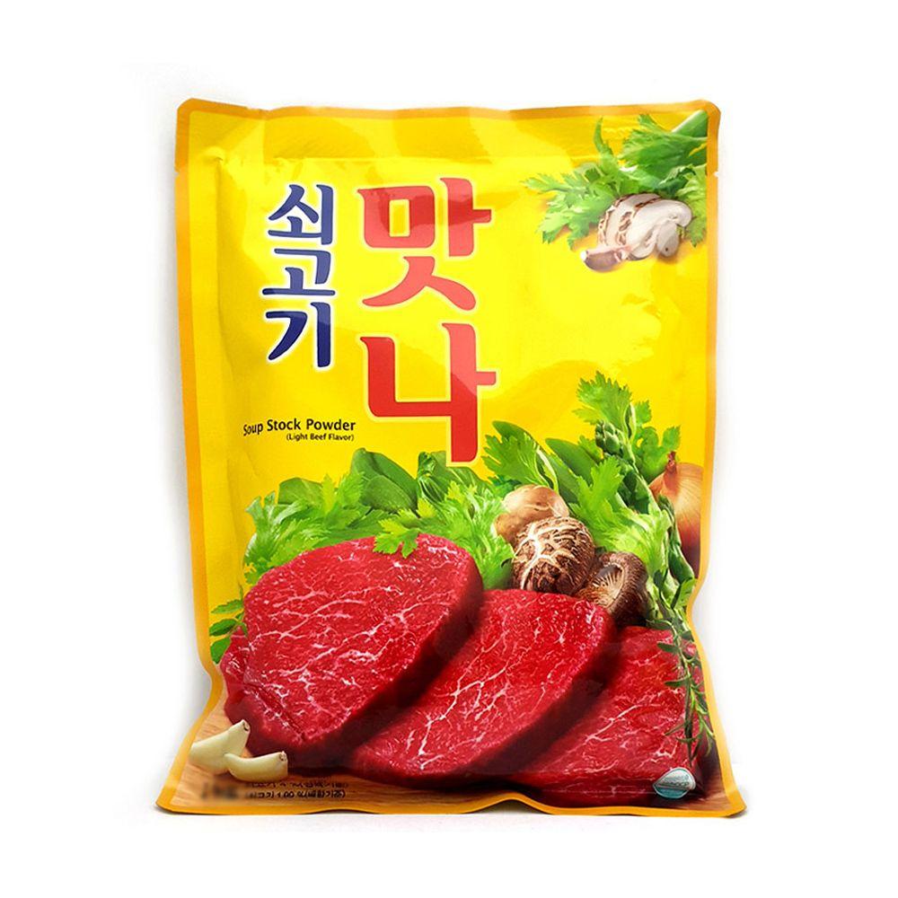 대상청정원 쇠고기맛나 500g/ 조미료/국 찌개 감칠맛