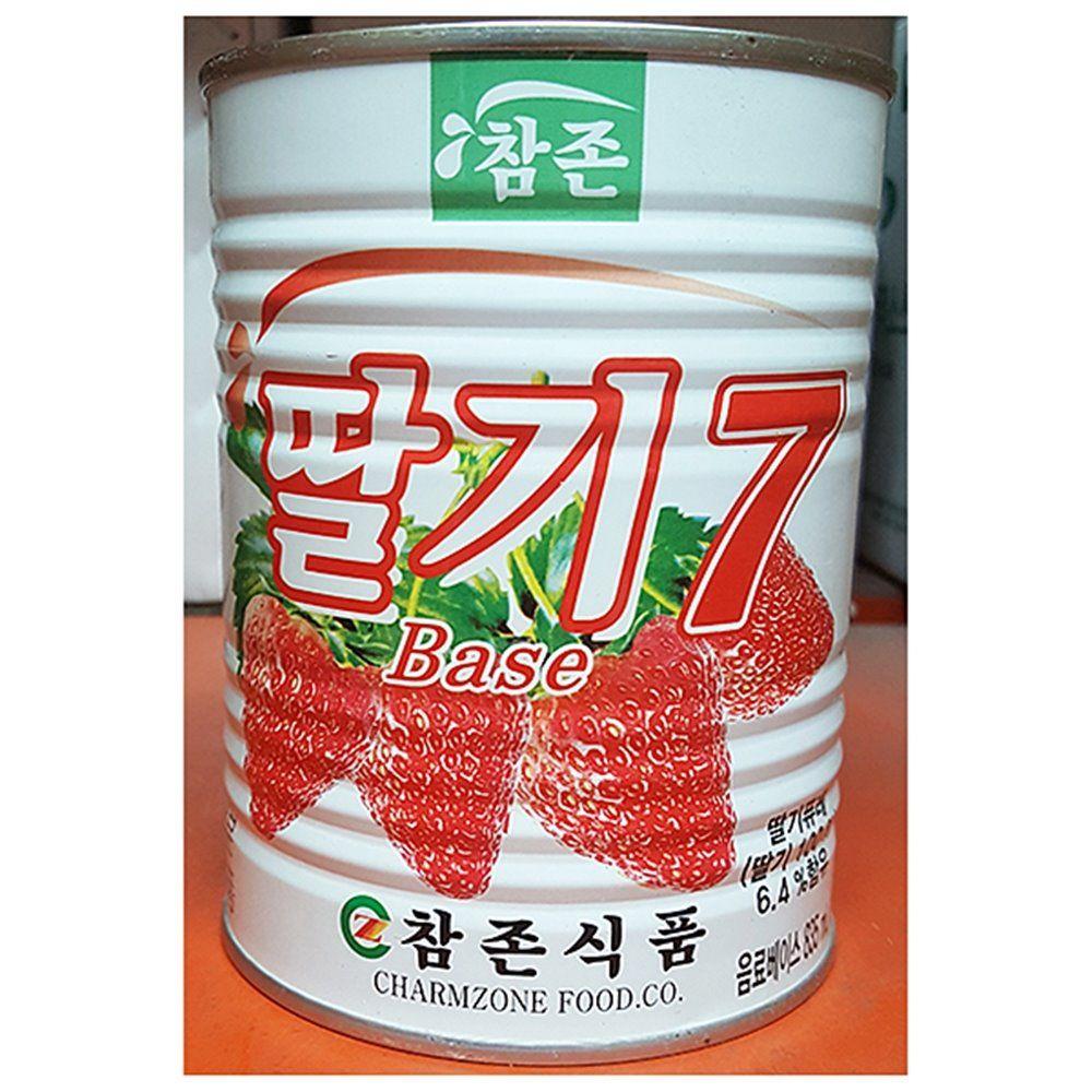 딸기 농축액 참존 835ml X12개 음료 베이스 원액 액상