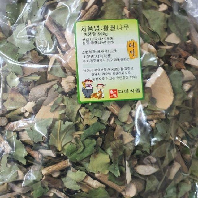 국내산 제천 황칠나무 600g