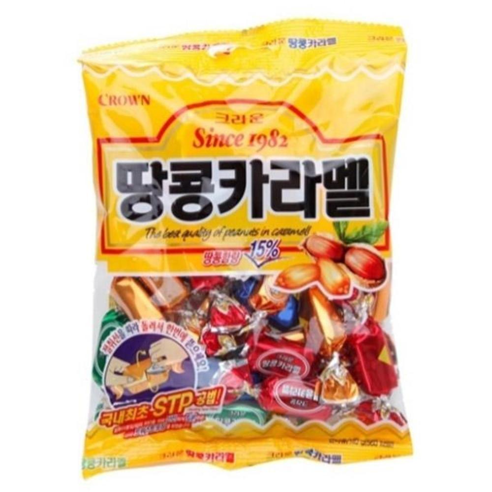 땅콩카라멜 120g 땅콩함량 15% 간식 후식 식당 업소