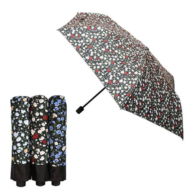 슬림플라워양산 (랜덤) 우양산 암막코팅 여성 꽃무늬