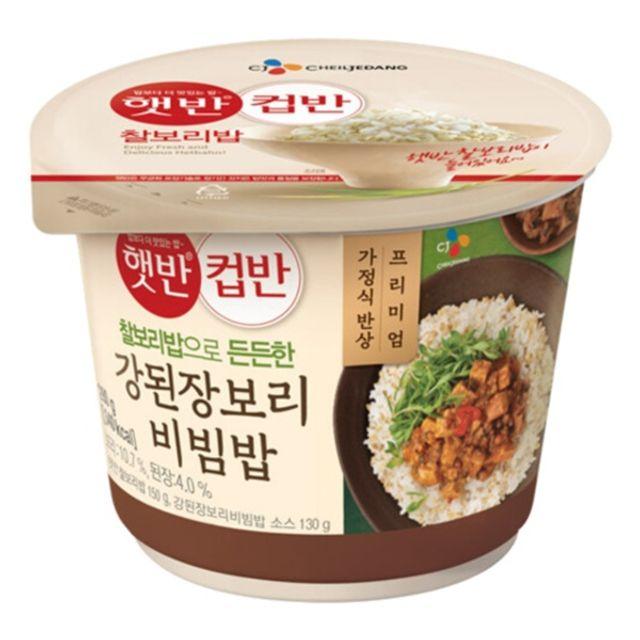 햇 반 컵반 강된장 보리 비빔밥 280g x 18개