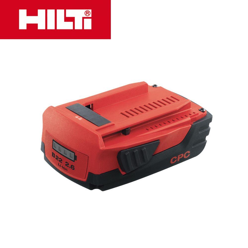 HILTI 힐티 22V 2.6Ah 리튬이온 배터리_B22/2.6