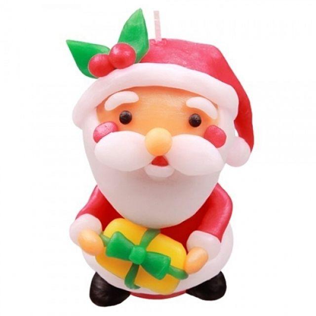 산타클로스 양초 만들기
