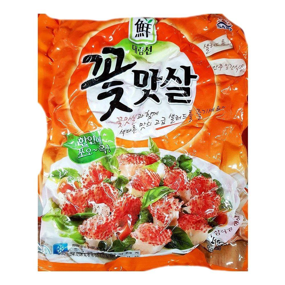 태공식품 꽃맛살 맛살 즉석식품 간식 안주 2K