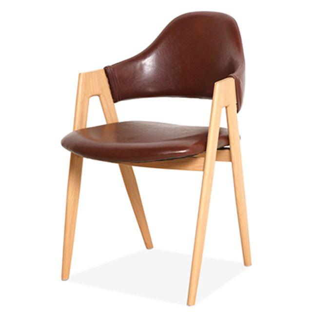 등받이 의자 Y2022-2 카페 식탁 사무실 대기실 다목적-와인