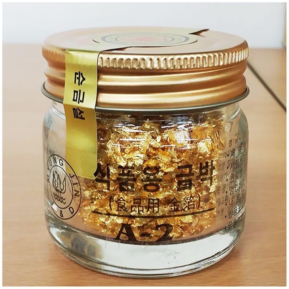 명진 금가루 식자재유통 0.3gX10병