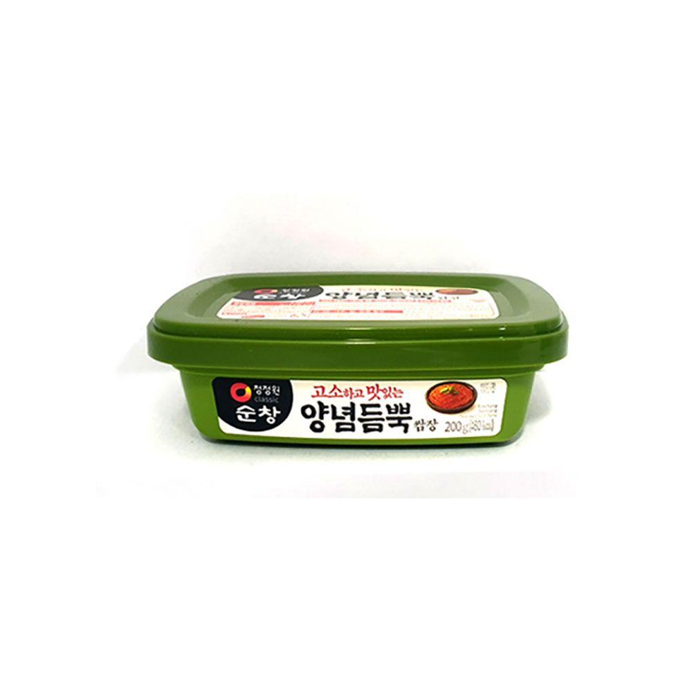 청정원 순창 양념듬뿍쌈장(용기) 200g 고기 양념장