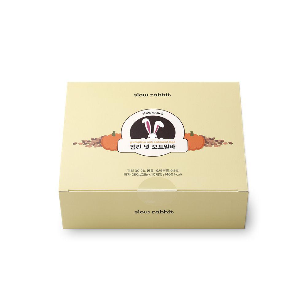 간편한 슬로우래빗 펌킨넛오트밀바 30개 (10개x3박스)