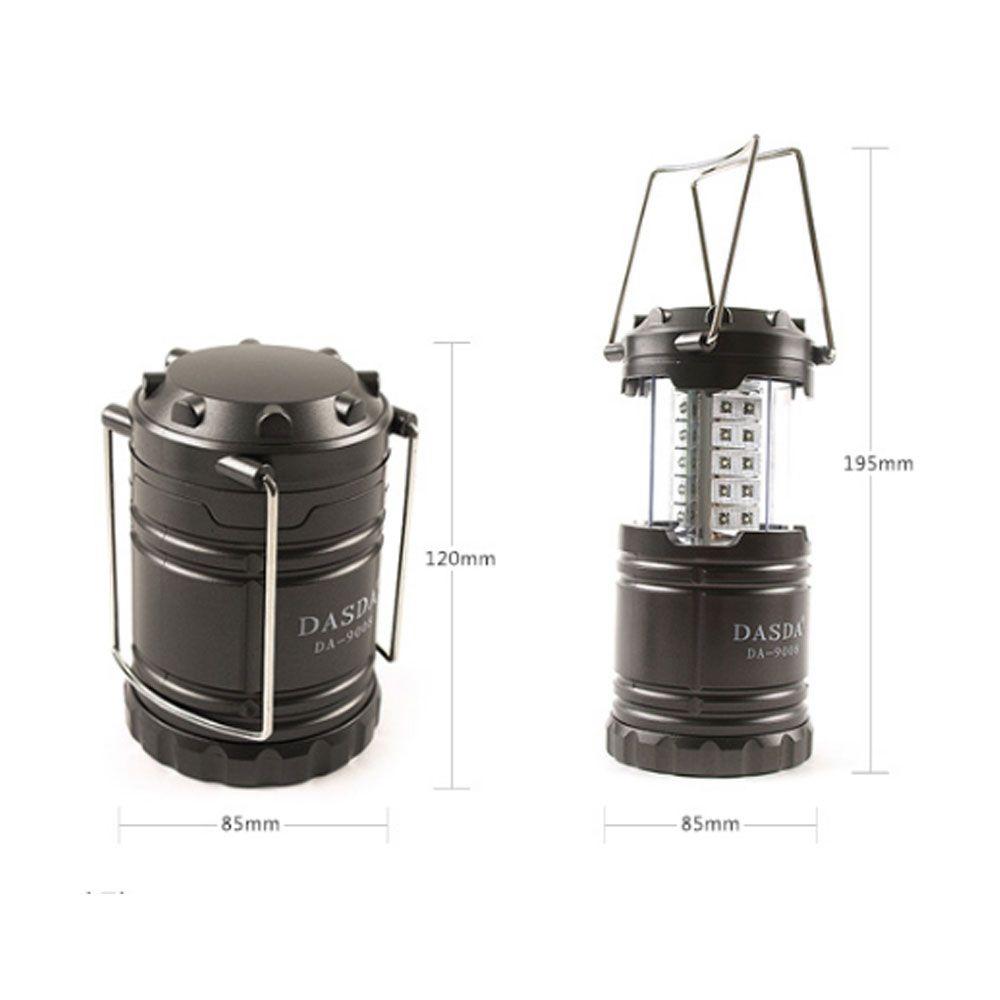 캠핑용 휴대용 소형 경량 손전등 걸이 LED 30구 랜턴