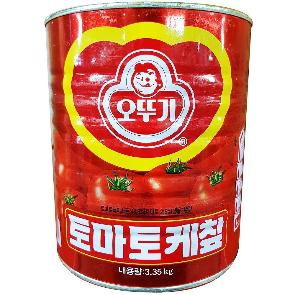 오뚜기 케찹 3.35kg 토마토 캐찹 업소용 식당 케첩