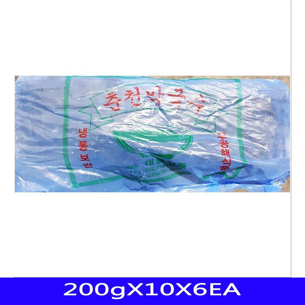 막국수사리 냉동식품 분식재료 대명식품 200gX10X6EA
