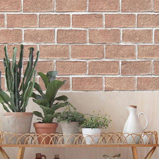 풀바른 조각 벽지 홈데코 인테리어 60장 세트 53x34cm
