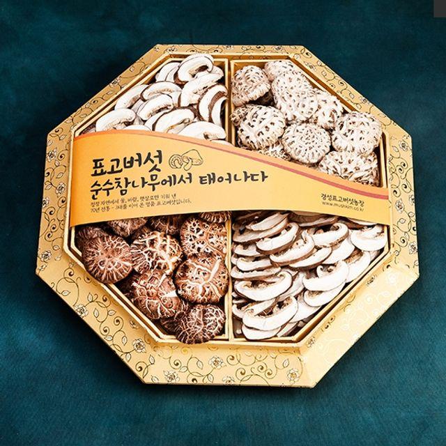 경성표고버섯 팔각다화고 500g/참나무원목표고버섯/3대를이은60년전통