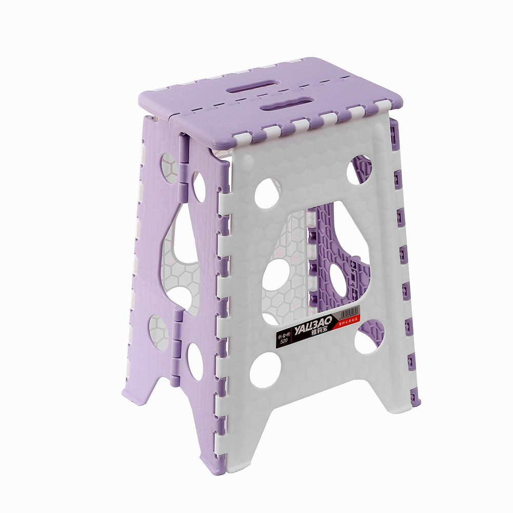 사각 접이식 의자 L 퍼플 간이플라스틱접이식의자