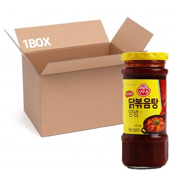 오뚜기 닭볶음탕 235g (1box 15입)