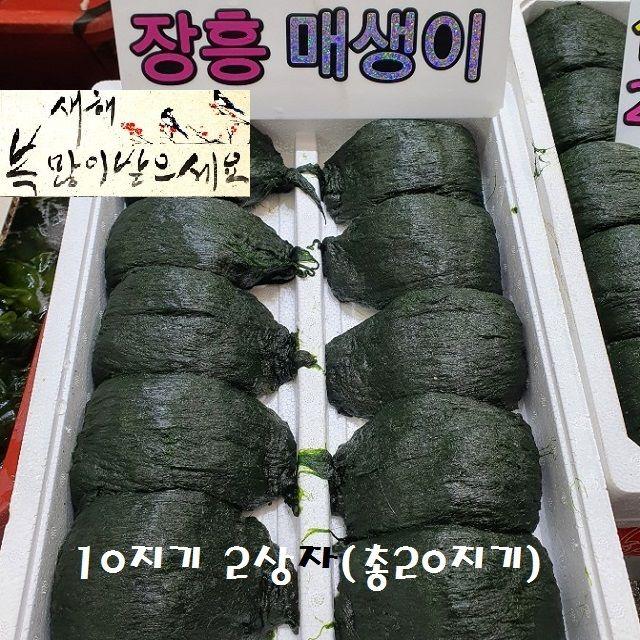 구정설명절세트 바다향과맛 매생이 6kg이상