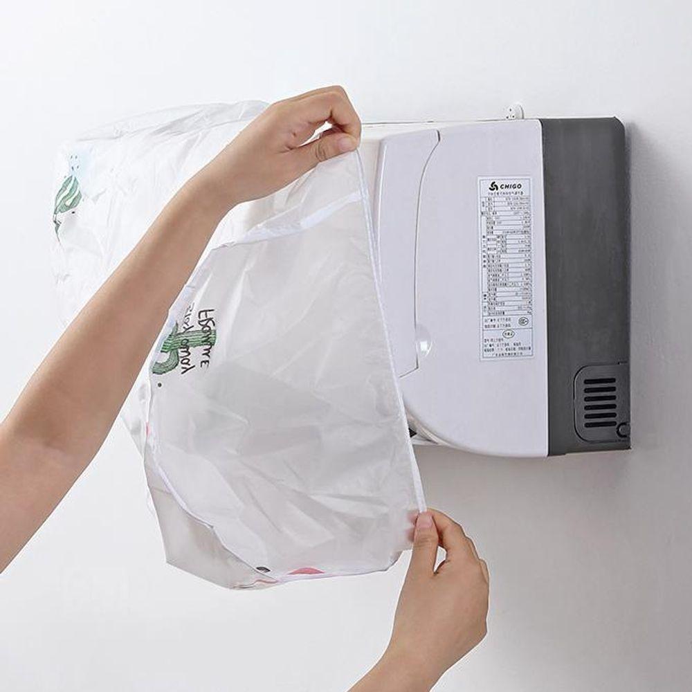 벽걸이 에어컨 커버 인테리어 용품 먼지방지 방수