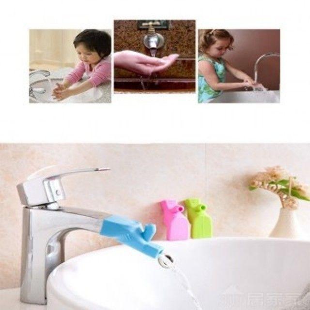 W0D9324 생활 건강>욕실용품>욕실잡화>샤워용품 수도꼭지연장2/아기수도꼭지/어린이수도꼭지/아쿠아탭