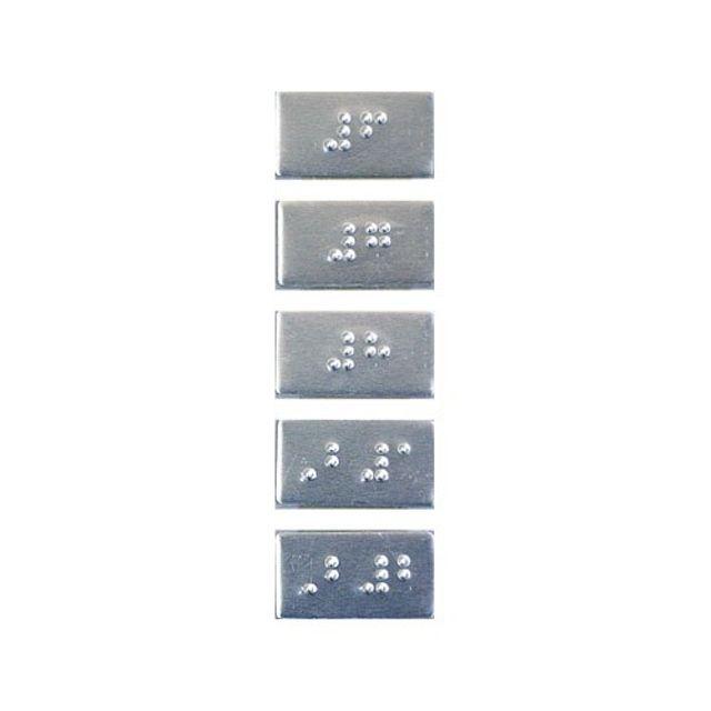 엘리베이터 번호판 층수 점자 알루미늄 안내 알림