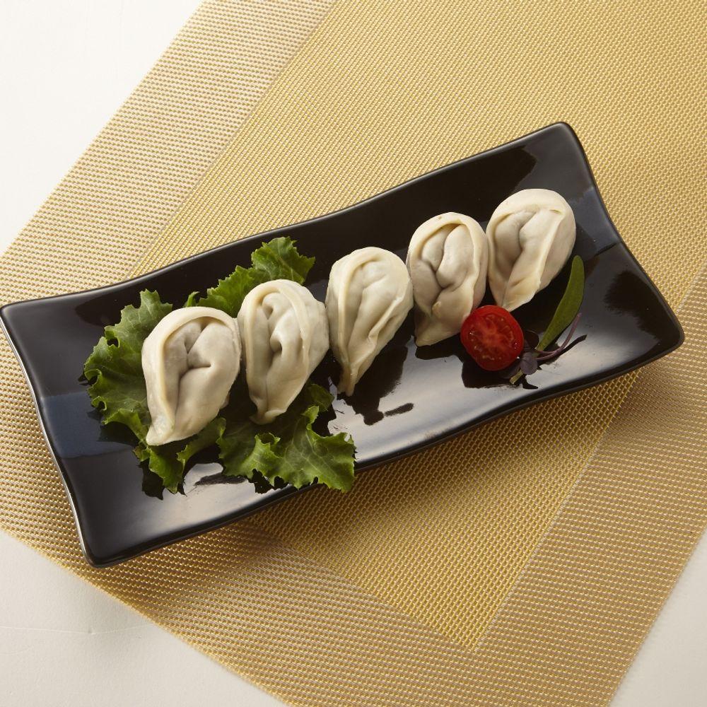오강푸드 국산 채식 비건 간식 야식 새우 만두 320g